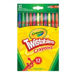Crayola Pack of 12 Twistable Crayons