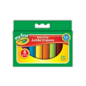 Crayola Pack of 8 Assorted Crayons