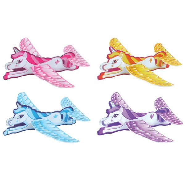 Flying Unicorn Glider Perfect Party Bag Filler For Kids