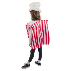 Be creative and stand out with this popcorn outfit at your next fancy dress party!It's perfect for any dress up occasion, such as halloween or purim.