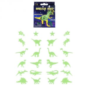 Dinosaur Glow In Dark Stickers