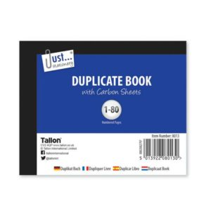 80 Pages Duplicate Book Half Size