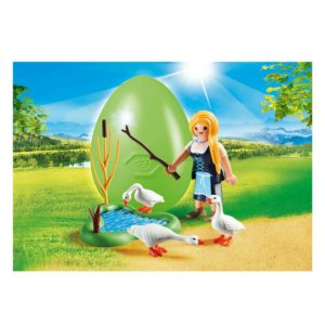 Playmobil Maiden with Geese 2