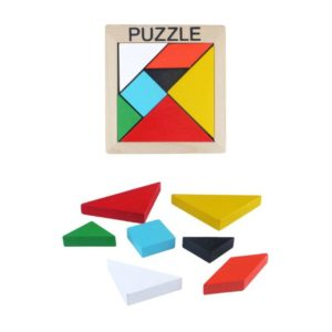 Wooden Puzzle Game 7pcs